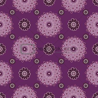 Bright drawing seamless pattern background.