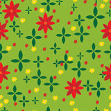 Abstract meadow pattern