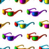 Sunglasses, seamless background