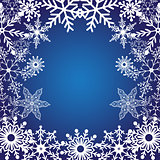 Winter bright background