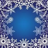 Winter bright background