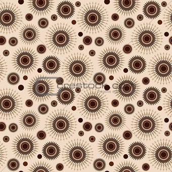 Abstract geometrical coffee brown background