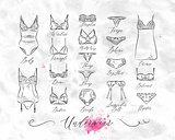 Underwear classic icons