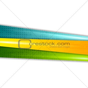 Abstract colorful grunge stripes vector background