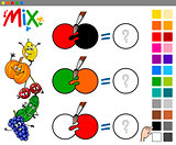 mix colors game for kids