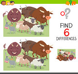 spot the differences worksheet