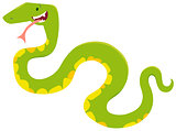 cartoon snake animal character