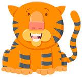 tiger cartoon animal character