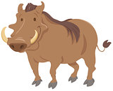 cartoon warthog animal character