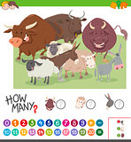 calculating animals game