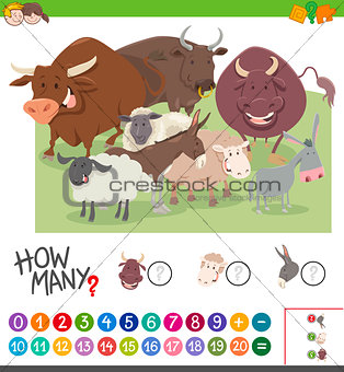 calculating animals game