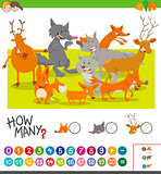 how many animals activity