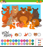 count how many animals game