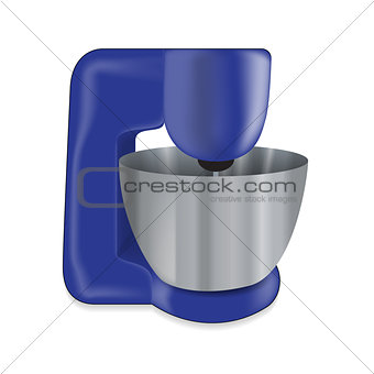Kitchen appliances. Electric mixer. Vector Illustration
