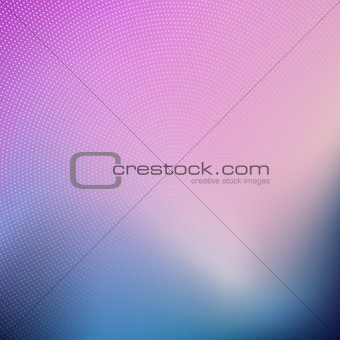 Abstract blur background with halftone dots