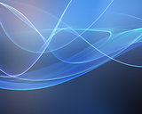 Abstract flowing lines background