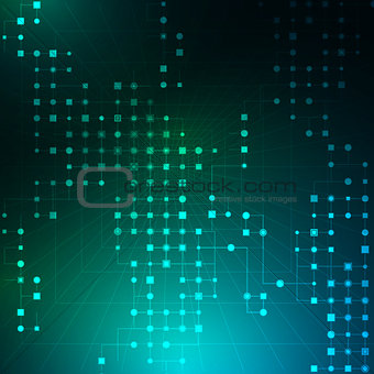 Abstract lattice background