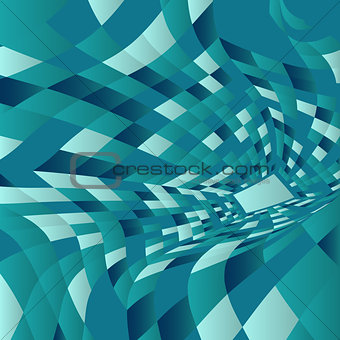 Abstract warp background