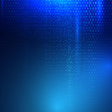 Binary code techno background