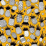 Pineapple set, sketch for your design
