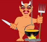 Devil in hell