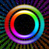 Rainbow ring, background