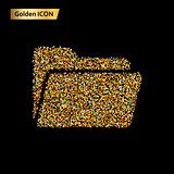 Folder icon gold