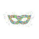 carnival mask pattern