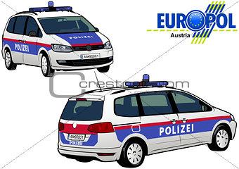 Austria Police Car