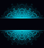 Dlack abstract background