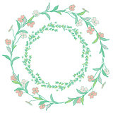 Wreaths, Branches, Laurels with Herbs, Plants and Flowers