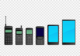 Evolution mobile phone smartphone