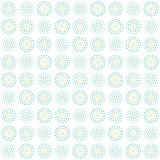 vector seamless pattern circles, simple geographic shapes