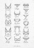 Underwear poster classic