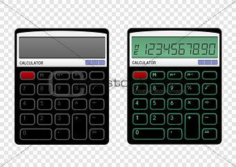 On off calculator