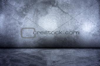 Gray-blue concrete background. 3d illustration