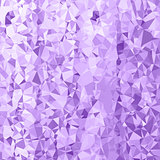 Abstract Purple Polygonal Background