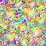 Abstract Colorful Polygonal Background.
