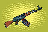 AKM Soviet automatic weapons