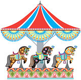 roundabout horse carousel
