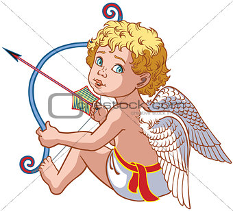 little angel cupid