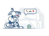 Modern dog robot