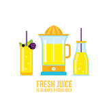Juicer Glass of juice Smoothie bottle Organic fresh summer drinks