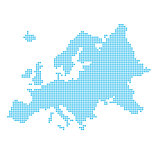 Europe made of dots