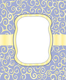 Vintage frame background invitation ornament