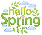 Hello spring theme image 4