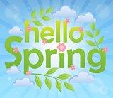 Hello spring theme image 5