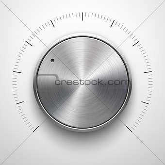 Abstract Technology Volume Knob