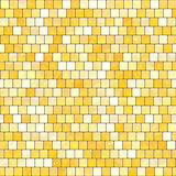 ceramic yellow orange mosaic background seamless texture in swimming pool or kitchen