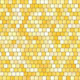 ceramic yellow orange mosaic background seamless texture in swimming pool or kitchen